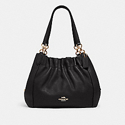 MAYA SHOULDER BAG - IM/BLACK - COACH C1454