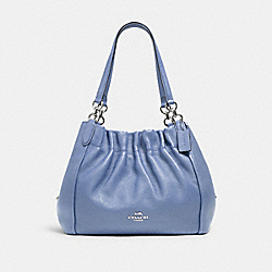 MAYA SHOULDER BAG - SV/PERIWINKLE - COACH C1454