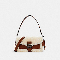 GEORGIE SHOULDER BAG - QB/REDWOOD - COACH C1524