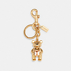 GIFTING BEAR BAG CHARM - GOLD - COACH C1682