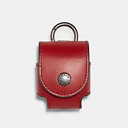 EARBUD CASE - QB/1941 RED - COACH C1740