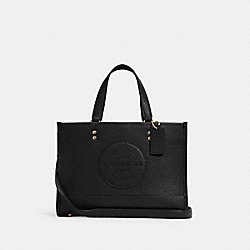 DEMPSEY CARRYALL WITH PATCH - IM/BLACK - COACH C2004