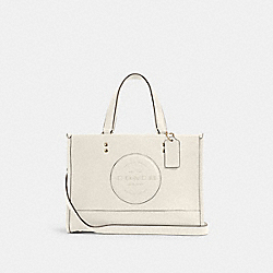DEMPSEY CARRYALL WITH PATCH - IM/CHALK - COACH C2004