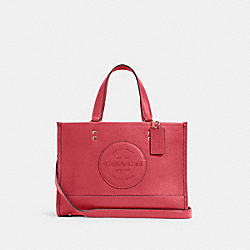DEMPSEY CARRYALL WITH PATCH - IM/FUCHSIA - COACH C2004