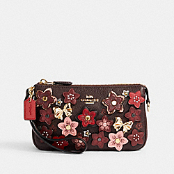 NOLITA 19 WITH DAISY APPLIQUE - IM/OXBLOOD/1941 RED MULTI - COACH C2254
