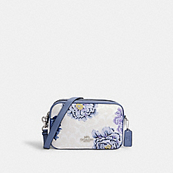 JES CROSSBODY IN SIGNATURE CANVAS WITH KAFFE FASSETT PRINT - SV/CHALK MULTI - COACH C2798