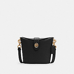 ADDIE CROSSBODY - IM/BLACK - COACH C2814