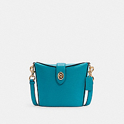 ADDIE CROSSBODY - IM/TEAL - COACH C2814