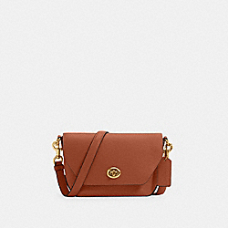 KARLEE CROSSBODY - IM/REDWOOD - COACH C2815