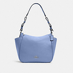 RORI SHOULDER BAG - SV/PERIWINKLE - COACH C2853