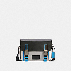 TRACK CROSSBODY IN COLORBLOCK - QB/CHALK DOVE GREY MULTI - COACH C2865