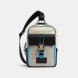 TRACK PACK IN COLORBLOCK - QB/CHALK DOVE GREY MULTI - COACH C2866
