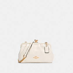 NORA KISSLOCK CROSSBODY - IM/CHALK - COACH C2875