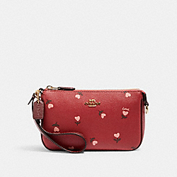 NOLITA 19 WITH HEART FLORAL PRINT - IM/WINE MULTI - COACH C2897