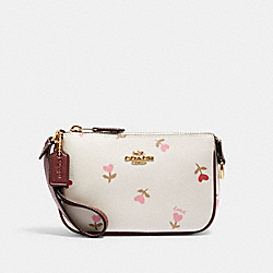 NOLITA 15 WITH HEART FLORAL PRINT - IM/CHALK MULTI - COACH C2899