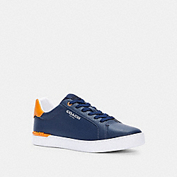 CLIP LOW TOP SNEAKER - TRUE NAVY SUNBEAM - COACH C3079