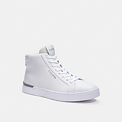 CLIP HIGH TOP SNEAKER - CHALK OPTIC WHITE - COACH C3082