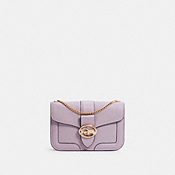 GEORGIE CROSSBODY - IM/SOFT LILAC - COACH C3296