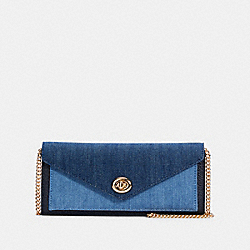 ENVELOPE WALLET - IM/DENIM MULTI - COACH C3317