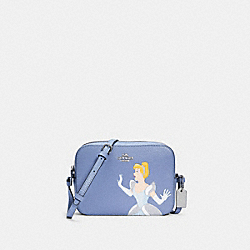 DISNEY X COACH MINI CAMERA BAG WITH CINDERELLA - SV/PERIWINKLE MULTI - COACH C3406