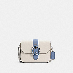 GEMMA CROSSBODY IN COLORBLOCK SIGNATURE CANVAS - SV/CHALK/LIGHT KHAKI MULTI - COACH C3415