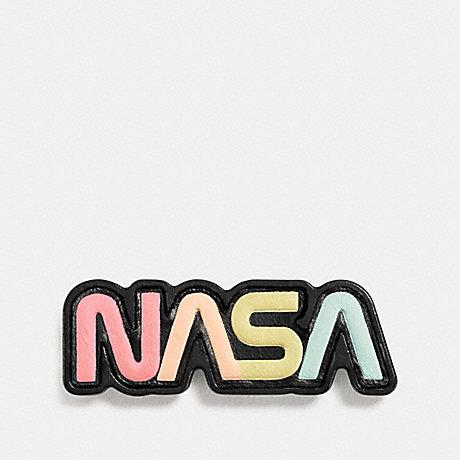 COACH SPACE PIN - MULTI - F10638