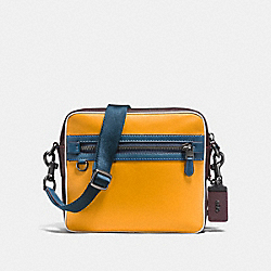 DYLAN - GOLDENROD/CURRANT/BLACK COPPER FINISH - COACH F11079