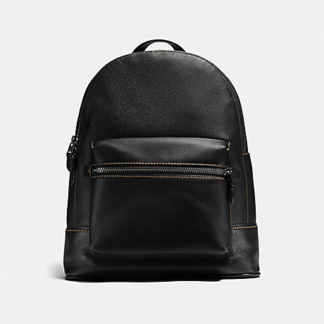 COACH LEAGUE BACKPACK - BLACK/LIGHT ANTIQUE NICKEL - F11105