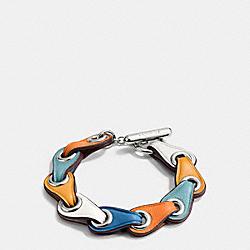 COACH LINK BRACELET - SILVER/CHALK - COACH F11151