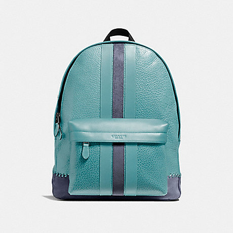 COACH CHARLES BACKPACK WITH BASEBALL STITCH - QBCYA - f11250