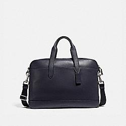 HAMILTON BAG - f11319 - NICKEL/MIDNIGHT NAVY/BLACK