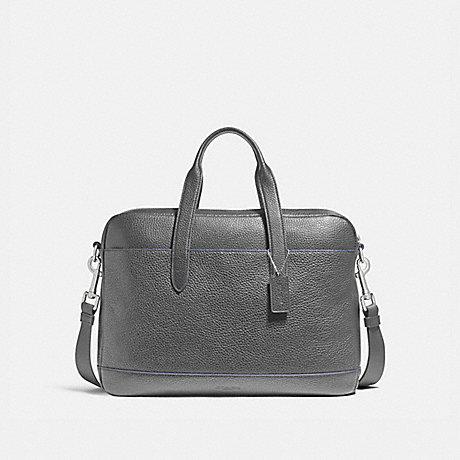 COACH HAMILTON BAG - NICKEL/GRAPHITE/DENIM - f11319
