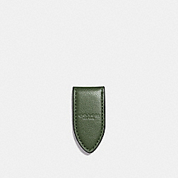 MONEY CLIP - f11456 - DARK GREEN