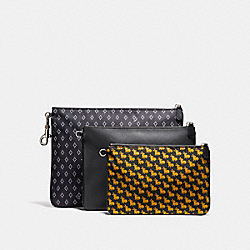 COACH MULTIPURPOSE POUCH SET - MV1 - F11457