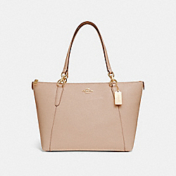 AVA TOTE - NUDE PINK/IMITATION GOLD - COACH F11900