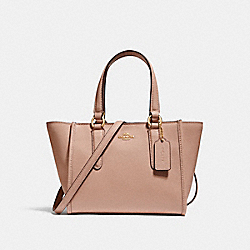 CROSBY CARRYALL 21 - IMITATION GOLD/NUDE PINK - COACH F11925