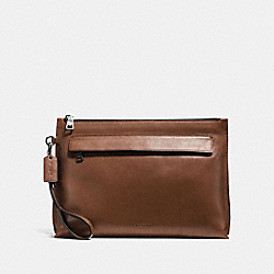 POUCH - DARK SADDLE - COACH F11930