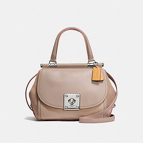 COACH DRIFTER TOP HANDLE - SILVER/STONE - f12094
