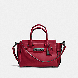 COACH SWAGGER 27 - CHERRY/DARK GUNMETAL - COACH F12111