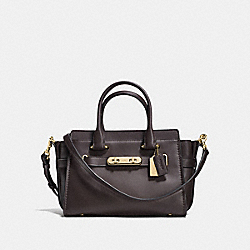 COACH SWAGGER 27 - CHESTNUT STONE/LIGHT GOLD - COACH F12111