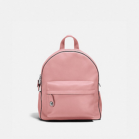 COACH CAMPUS BACKPACK - PEONY/SILVER - F14468