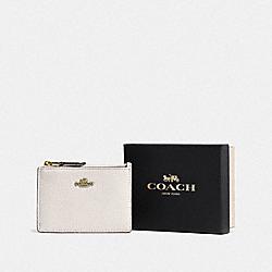 BOXED MINI SKINNY ID CASE - LI/CHALK - COACH F14469
