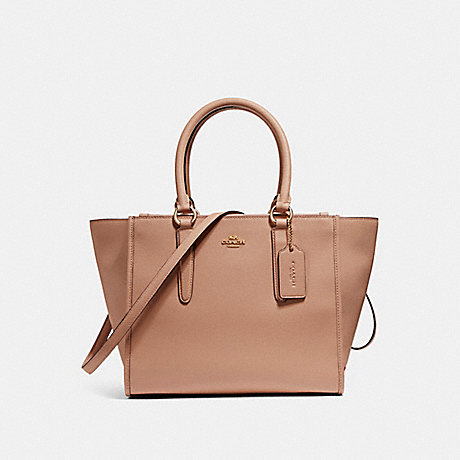 COACH CROSBY CARRYALL - IMITATION GOLD/NUDE PINK - f14928
