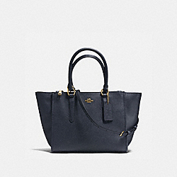 CROSBY CARRYALL - MIDNIGHT/LIGHT GOLD - COACH F14928