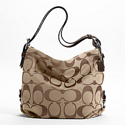 COACH 24CM SIGNATURE DUFFLE - ONE COLOR - F15067