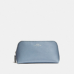 COACH COSMETIC CASE 17 - SILVER/DUSK 2 - F15152