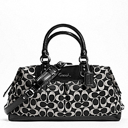 ASHLEY SIGNATURE SATEEN LARGE SATCHEL