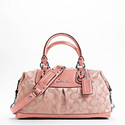 ASHLEY SIGNATURE SATEEN SATCHEL