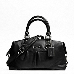 ASHLEY LEATHER SATCHEL