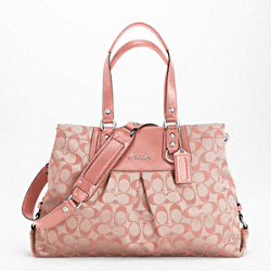 ASHLEY SIGNATURE SATEEN CARRYALL